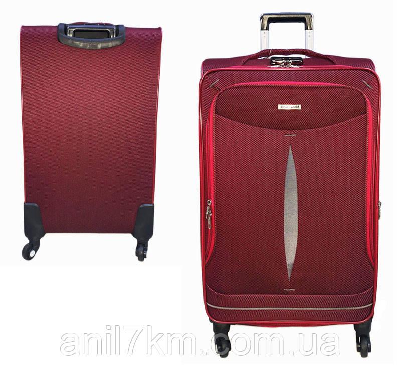 Малий чотириколісний валізу Travel World