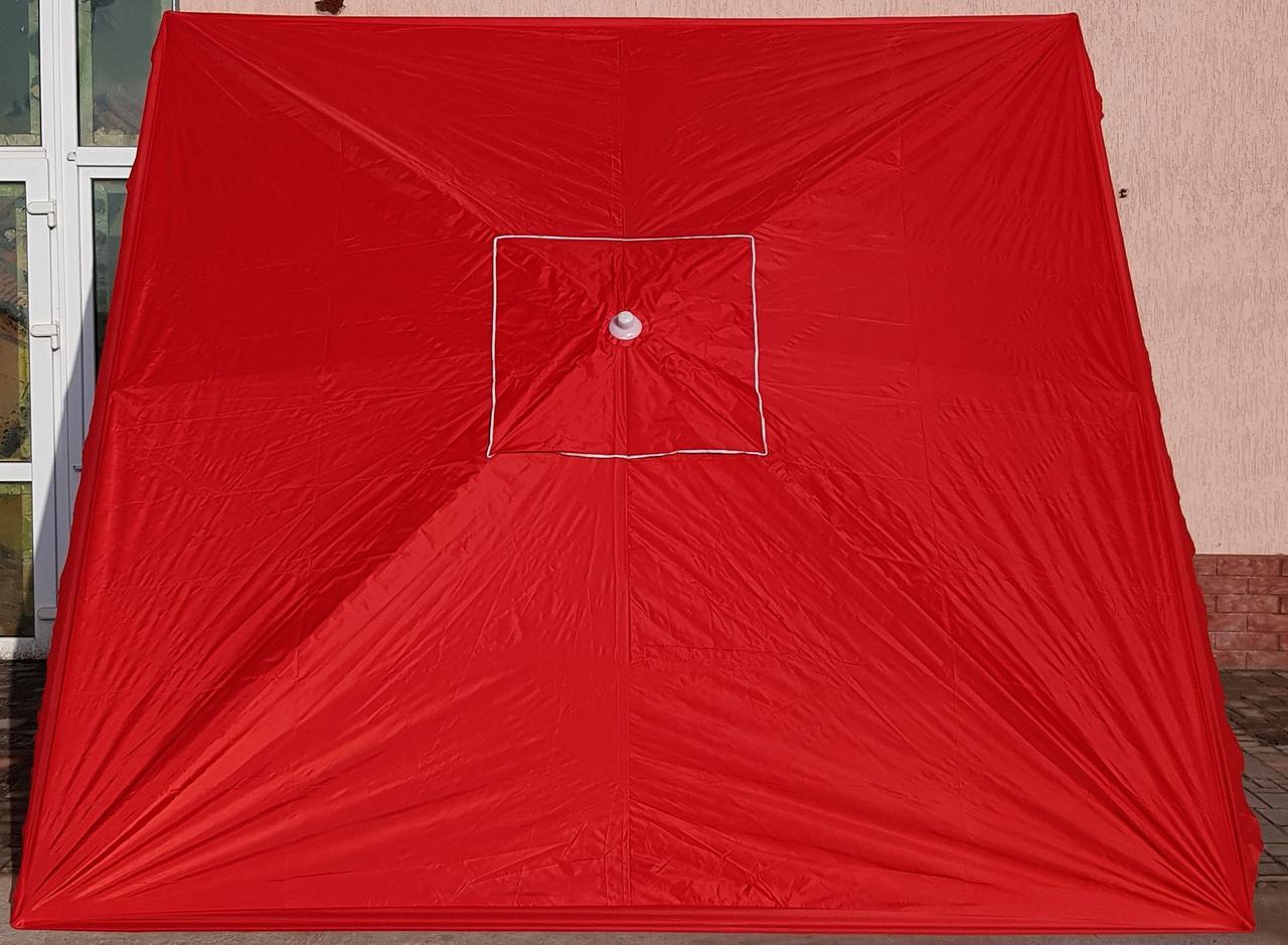 Зонт садовый торговый  SANSAN umbrella 029W 3м х 3м