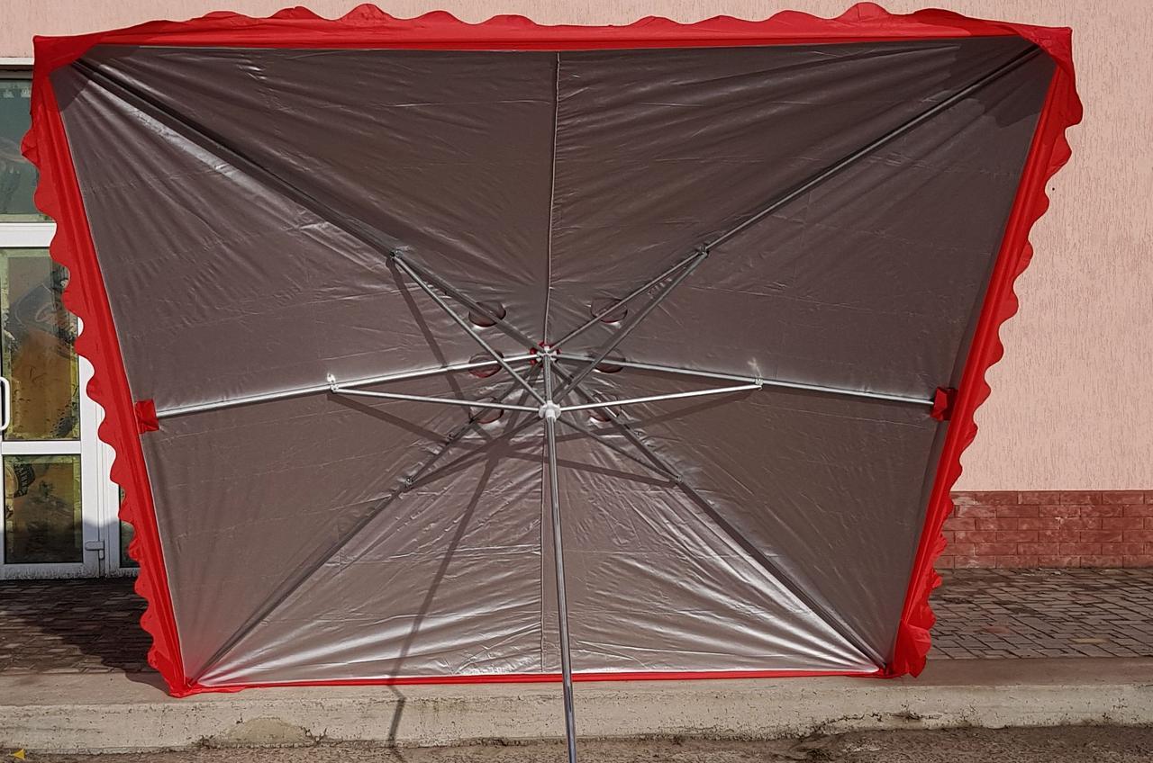 Зонт садовый торговый  SANSAN umbrella 029 3м х 3м
