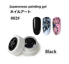Гель-краска для ногтей Francheska #002, 5ml