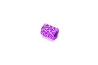 Стойка рифлёная 8мм для рам мультикоптеров (фиолетовый)