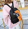 Крутой тканевый рюкзак для школы с пеналом, фото 6