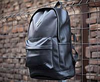 Рюкзак кожаный Asos x black мужской / женский