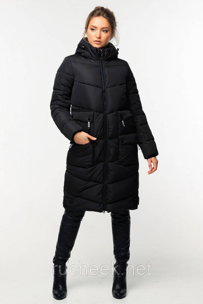 Зимнее молодежное пальто Далия 2 короткое,  р-ры 42 - 56, Новая коллекция  NUI VERY,