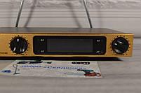 Беспроводная радиосистема на два микрофона (AKG KM-388 беспроводной караоке микрофон), фото 2