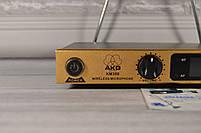 Беспроводная радиосистема на два микрофона (AKG KM-388 беспроводной караоке микрофон), фото 3