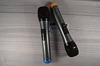 Беспроводная радиосистема на два микрофона (AKG KM-388 беспроводной караоке микрофон), фото 5