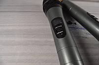 Беспроводная радиосистема на два микрофона (AKG KM-388 беспроводной караоке микрофон), фото 6