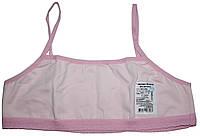 Комплект белья для девочки: топик и трусики, розовый, рост 164 см, Фламинго