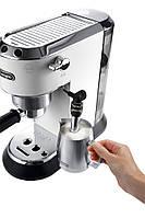 Рожковая кофеварка эспрессо Delonghi EC 685.W, фото 4