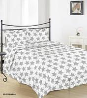 Постельное белье Бязь ЗВЕЗНОЕ НЕБО (на белом) Комплект постельного белья полутороспальный, евро, двуспальный