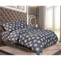 Постельное белье Бязь ЗВЕЗНОЕ НЕБО (на черном) Комплект постельного белья полутороспальный, евро, двуспальный