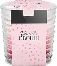 Ароматична свічка у склі BISPOL ваніль орхідея