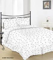Постельное белье Бязь ОДУВАНЧИК (на белом) Комплект постельного белья полутороспальный, евро, двусп