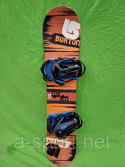 Сноуборд бу Burton LTR 120 см +  кріплення Burton