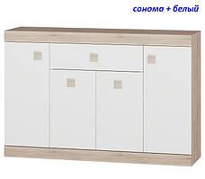 Большой комод с дверями и ящиком Соната-7, фото 3