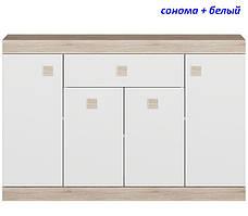 Большой комод с дверями и ящиком Соната-7, фото 2