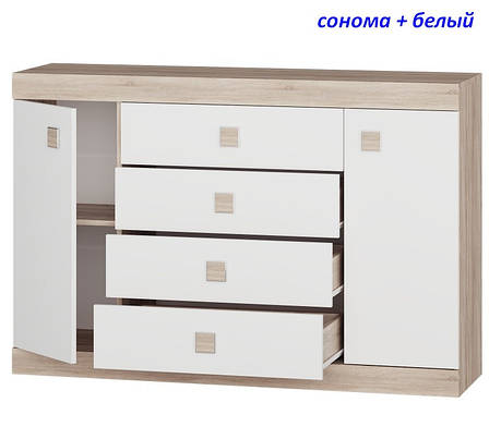 Большой комод на 4 ящика Соната-8, фото 2