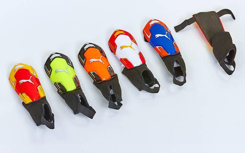 Щитки футбольні з захистом щиколотки PM FB-662A-M