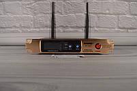 Радиосистема на 2 микрофона + дисплей (DM SH 300G/3G SHURE беспроводной караоке микрофон), фото 2