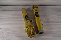 Радиосистема на 2 микрофона + дисплей (DM SH 300G/3G SHURE беспроводной караоке микрофон), фото 6