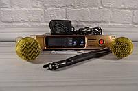 Радиосистема на 2 микрофона + дисплей (DM SH 300G/3G SHURE беспроводной караоке микрофон), фото 10