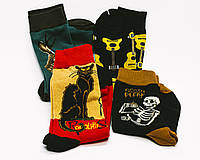 Модные яркие носки с принтом