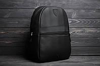 ХИТ! Рюкзак кожаный в стиле Puma Ferrari X black