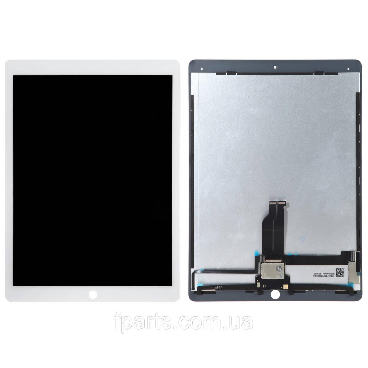 Дисплей iPad Pro 12.9 2015 (A1584, A1652) с шлейфом, White