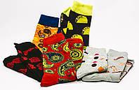 Яркие носки с красивым принтом