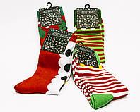 Яркие новогодние носки