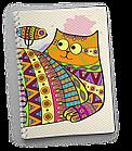 Блокнот Тетрадь Котик, фото 3