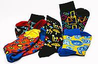 Яркие носки с необычным принтом