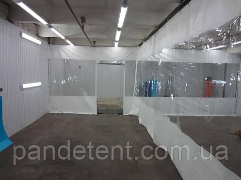 Водостойкие тенты (шторы), завесы ПВХ для склада, цеха,СТО, гаража, фото 2