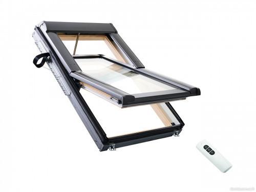 Мансардные окна Roto  WDT R45K WD EF    - Электроуправляемый ОКНА (WDT - RotoTronic)