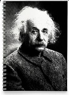Блокнот Тетрадь Альберт Эйнштейн