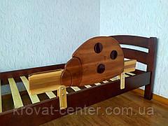 """Захисний бортик для дитячого ліжка """"Божа корівка"""" 100 див., фото 3"""