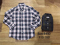 Рубашка на мальчиков  110 / 160 см