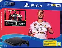 Стаціонарна ігрова приставка Sony PlayStation 4 Pro (PS4 Pro) Black + FIFA 20