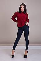 Свитер женский вязанный Турция, фото 3