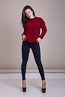 Свитер женский вязанный Турция, фото 4