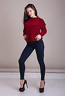 Свитер женский вязанный Турция, фото 6