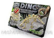 Набір для проведення розкопок «DINO PALEONTOLOGY». Динозаври. (Брахіозавр. Стегозавр.)