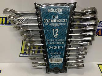 Набор ключей рожково-накидных Molder 12 шт. (MT57112)