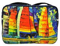 Джинсовая сумочка Парусная регата