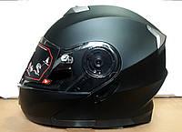 Шлем трансформер модуляр GXT чёрный матовый размер S