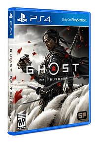 Диск с игрой  Ghost of Tsushima (PlayStation 4)