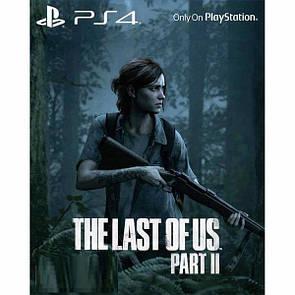 Диск с игрой The Last of Us Part II  (PlayStation 4, русская версия)
