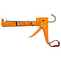 Пистолет полукорпусной для герметика, с усиленной рукояткой, 225 мм