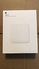 Блок питания для макбука Apple MacBook USB-C 30W, фото 3